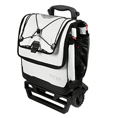 Arctic Zone Titan Deep Freeze 60  Can Rolling Cooler with AT Cart