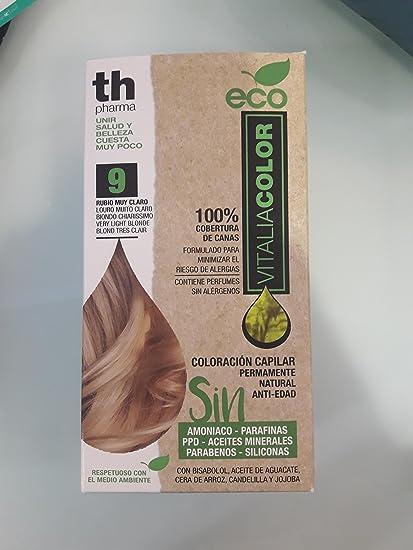 Th Pharma Th Eco Vitalia Color Tinte Nº 9 Rubio Muy Claro 250 g
