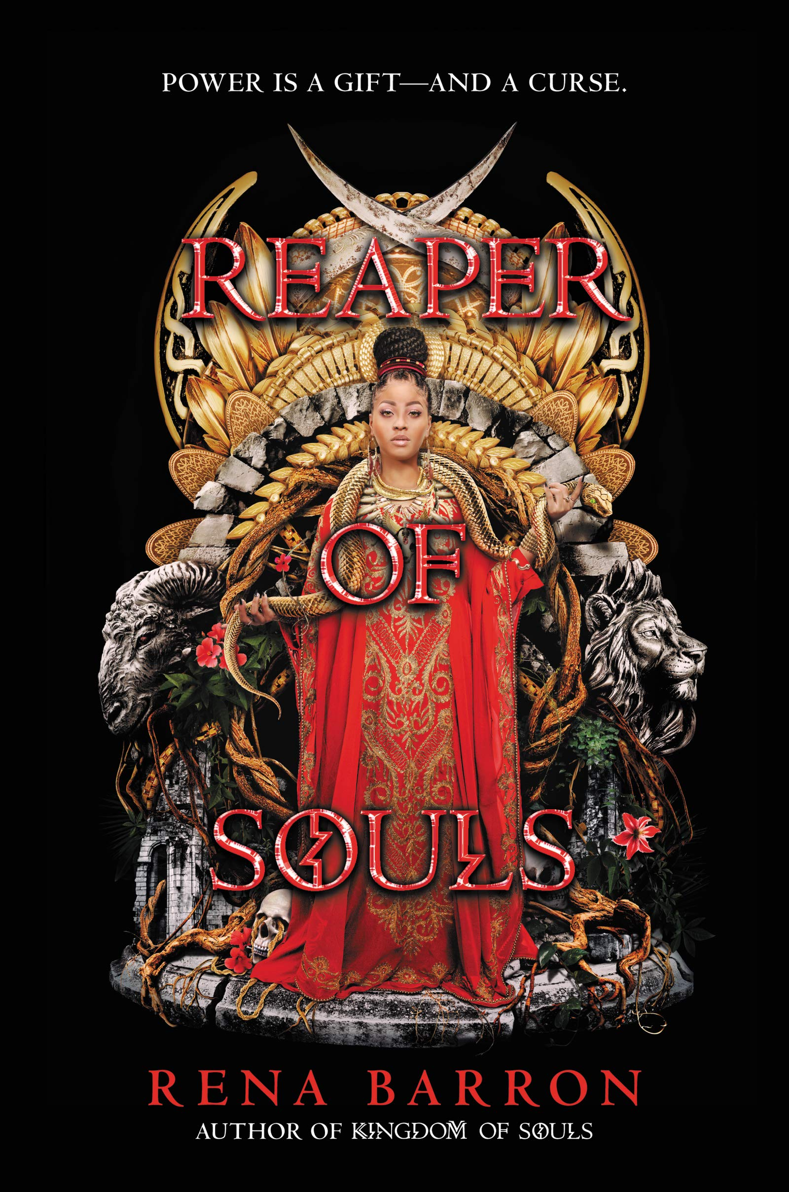 Amazon.com: Reaper of Souls (Kingdom of Souls) (9780062870988): Barron,  Rena: Books