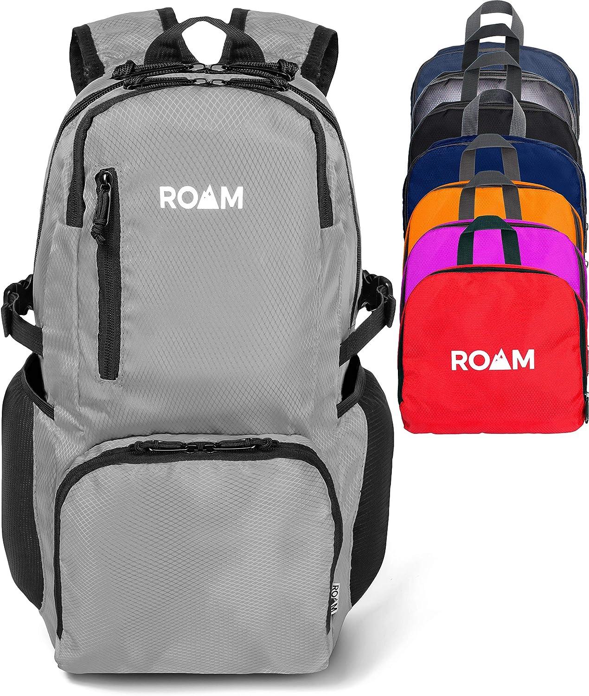 Roam Sac /à dos l/éger et pliable Petit sac /à dos r/ésistant /à leau Voyage Randonn/ée