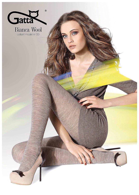 Gatta Bianca Wool 00 - blickdichte Damenstrumpfhose aus Wolle 88057