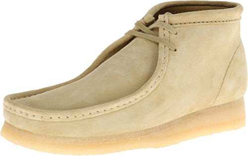 Clarks Herren Wallabee Boot, merhfarbig, Medium: