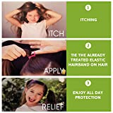 Lice Rainbow Bands, Nit Treatment Kit + Comb, Safe