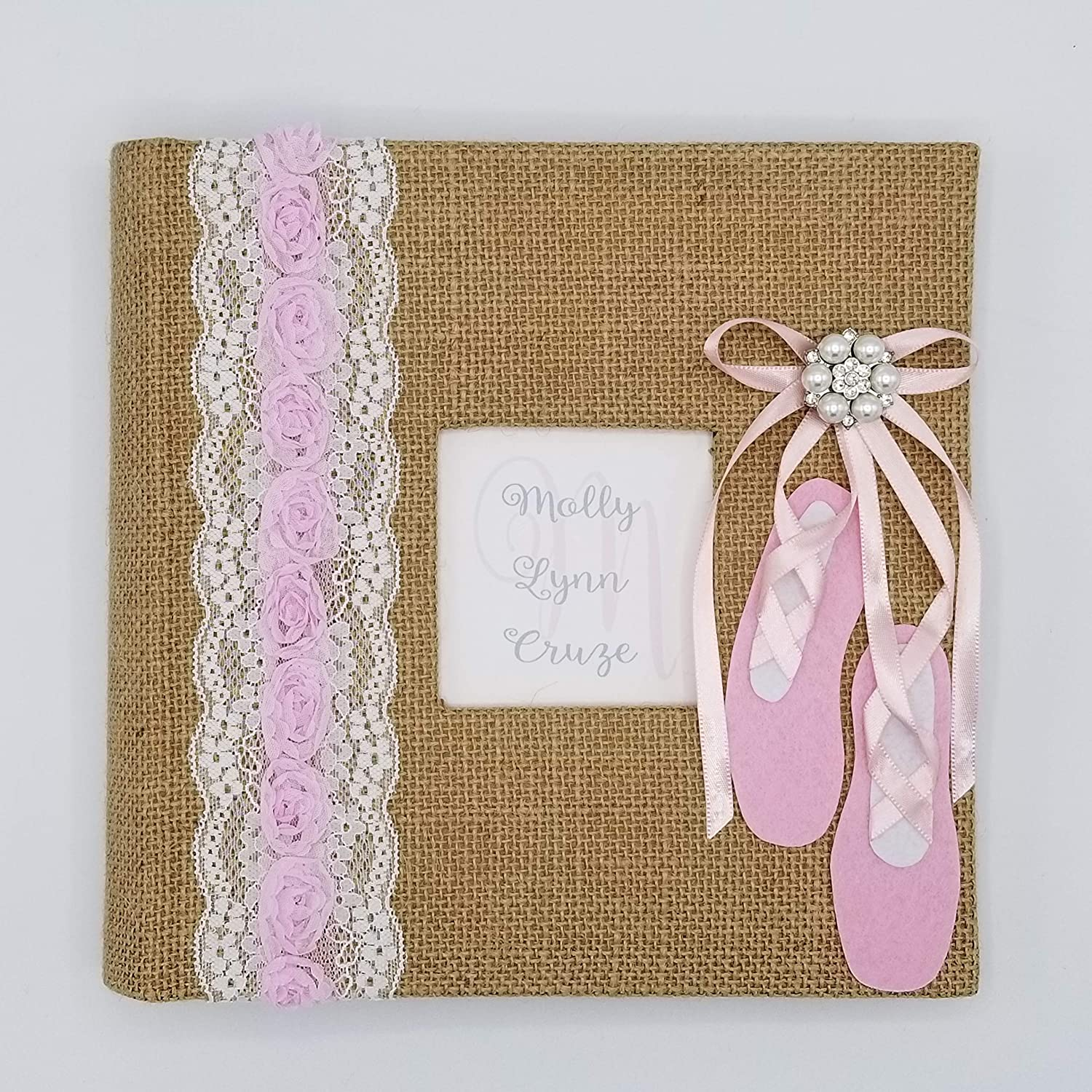 Holds 160 4x6 photos Custom Ballerina Photo Album