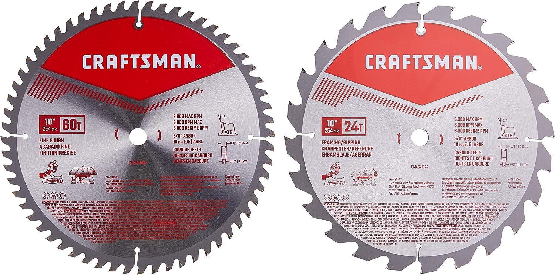 CRAFTSMAN 10-Inch Miter Saw Blade