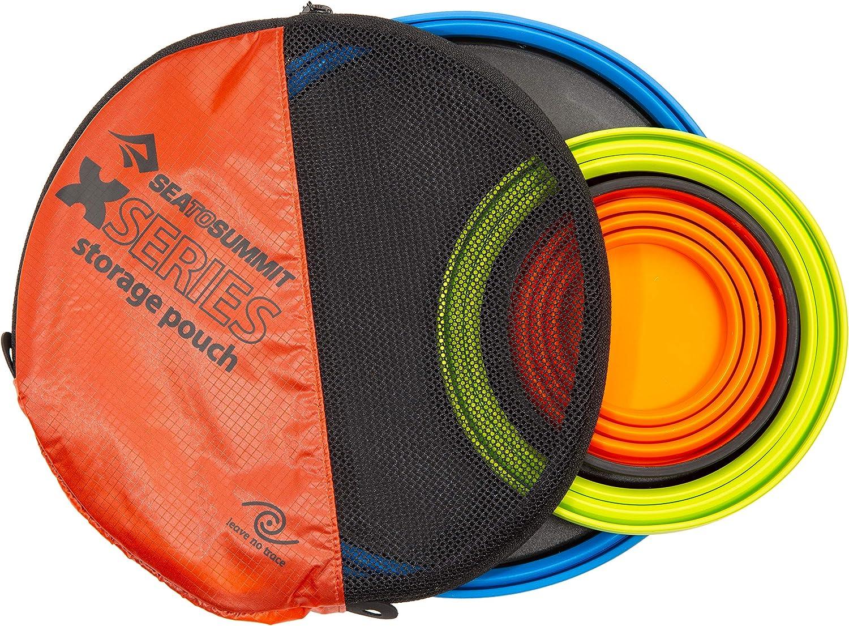 Sea to Summit X-Set: 3-PCE Azul X-Mug,X Bowl, X Plate /& Storage Pouch Talla /Única Adultos Unisex Olla Acampada y Senderismo