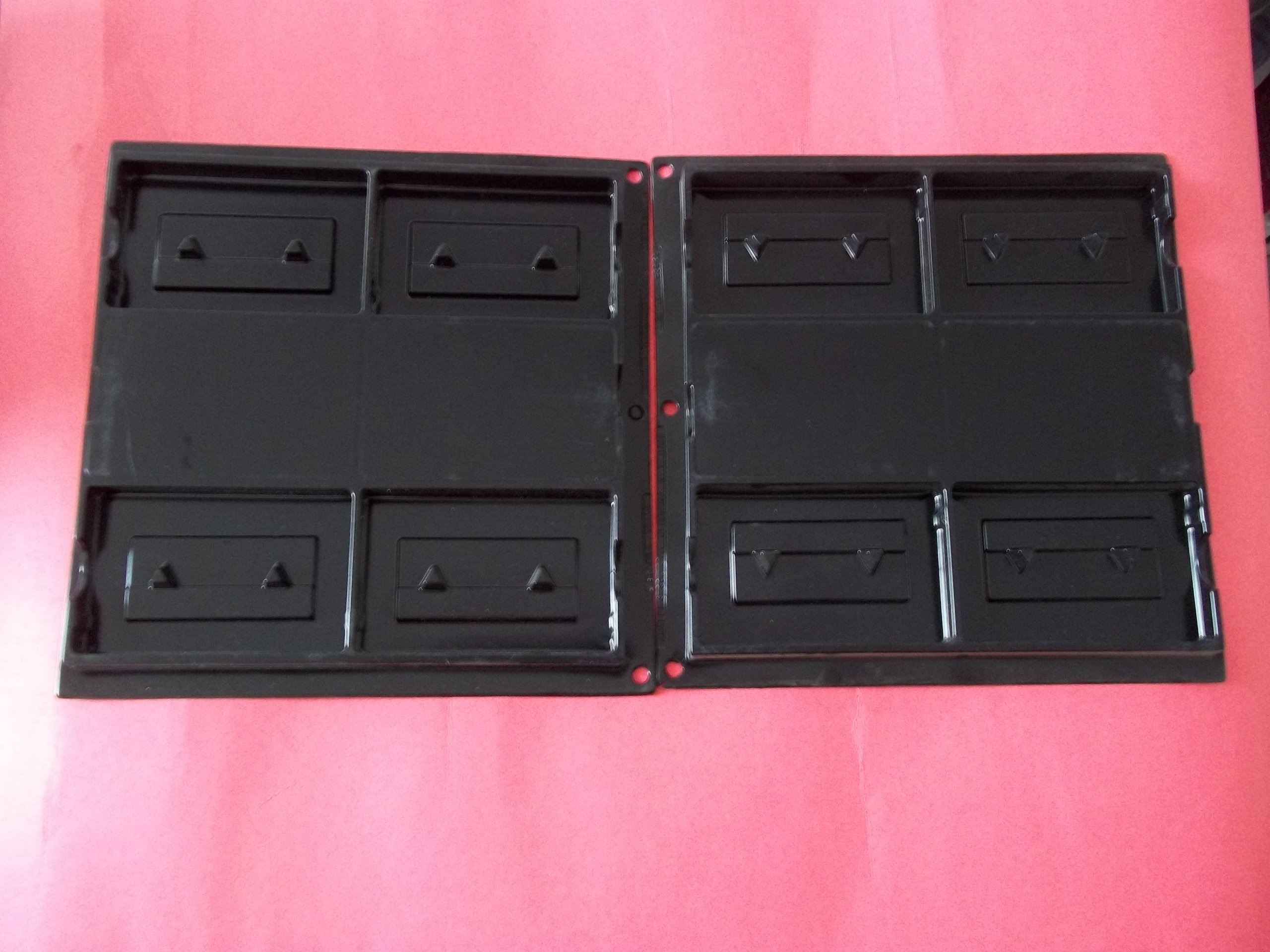 Angler's Co. 83048 Audio Cassette Storage Album Black Holds 4 Cassettes