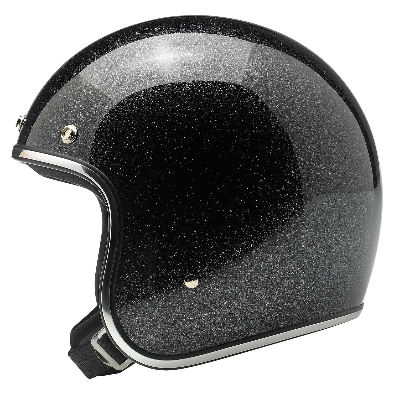 Pack Gloss Midnight Miniflake Xxl Biltwell BH-MID-GL-MIN-XXL Black Xx-Large Bonanza Helmet