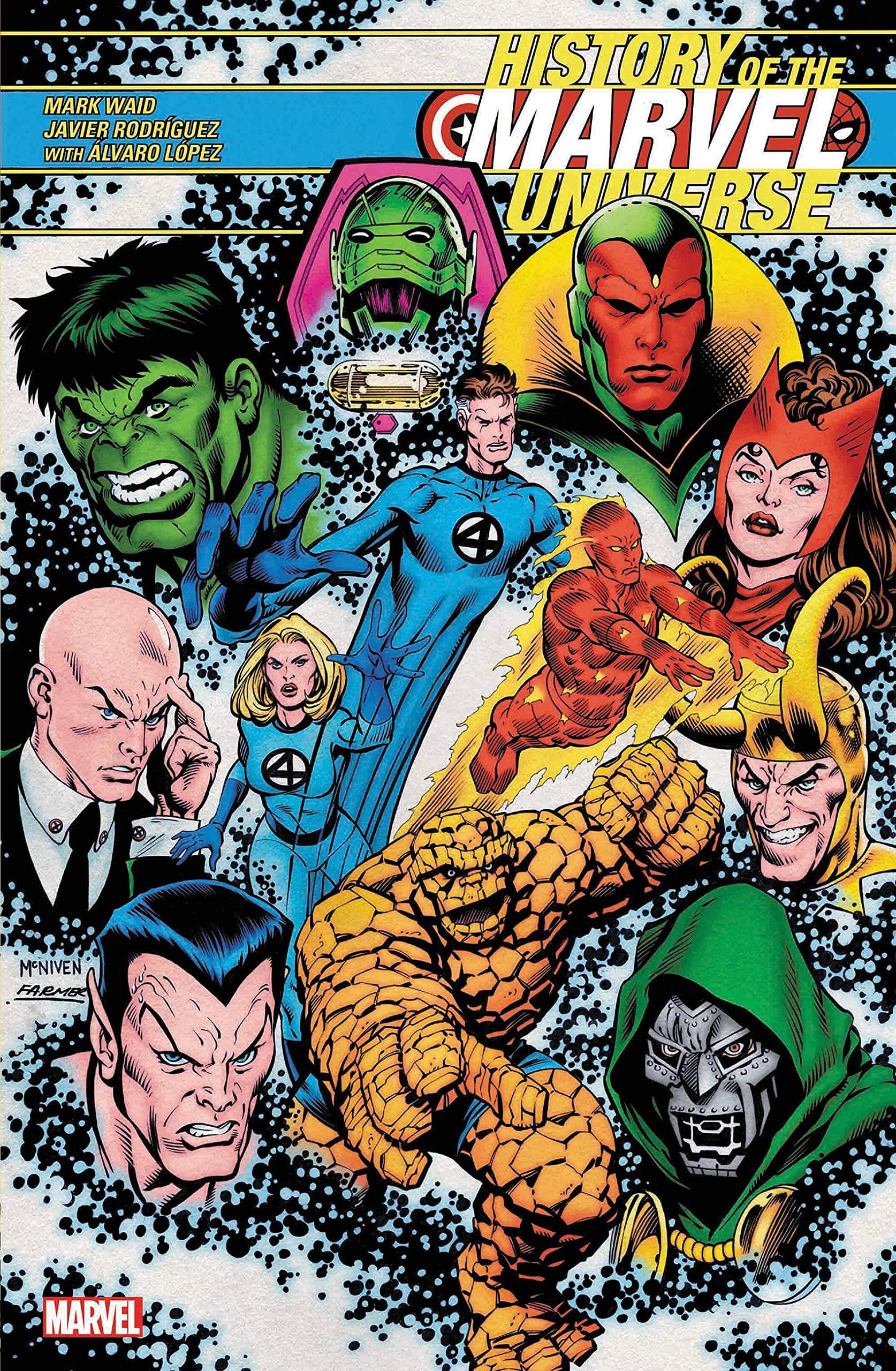 Amazon.com History of the Marvel Universe 10 Waid ...
