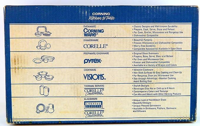 Corning visiones Silverstone Xtra 6 piezas visionware color rojo cristal de 7 ollas (con Bonus cacerola y tapa de plástico: Amazon.es: Hogar