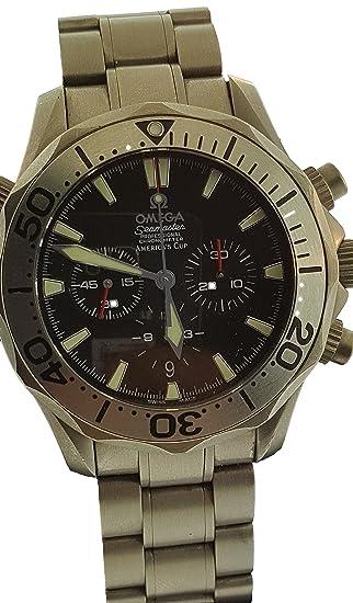 Omega Seamaster automatic-self-wind Mens Reloj 22935000 (Certificado) de segunda mano