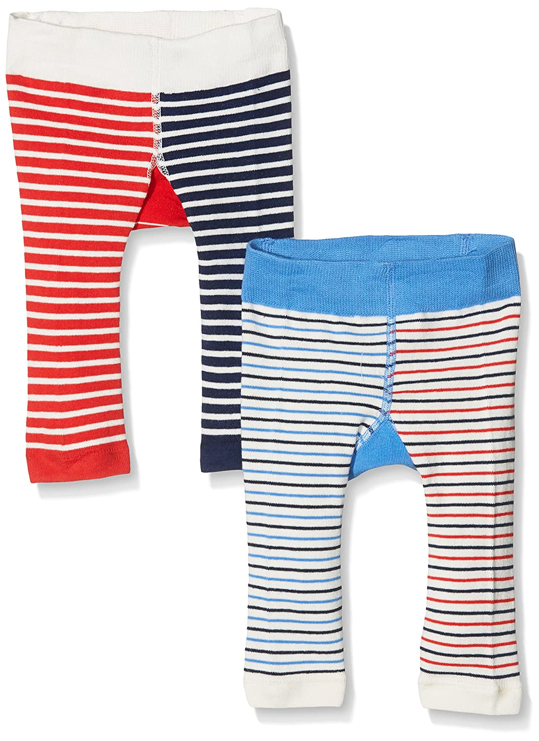 Joules Baby Boys' Lively Leggings Pack of 2 Multicoloured (Shark) Months (Size: 0-6) Pack of 2 Y_BABYLIVELYB