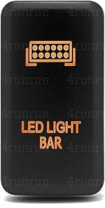 Light Bar Switch 4Runner 4th Gen Orange Push For Toyota OEM Replacement LED