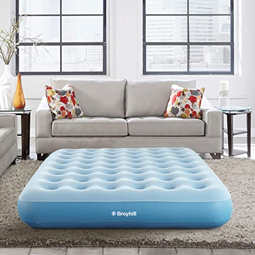 Broyhill Sleep Express Comfort Top Coil Air Bed Mattress with External Pump