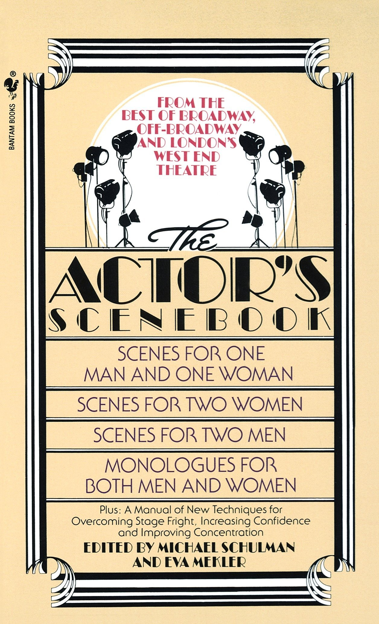 The Actor's Scenebook: Scenes and Monologues From Contemporary Plays:  Michael Schulman, Eva Mekler: 9780553263664: Amazon.com: Books