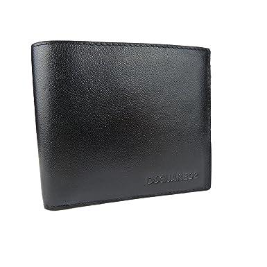 581692fc8851 DSQUARED2 Men Dante Billfold Designer Leather Wallet ...