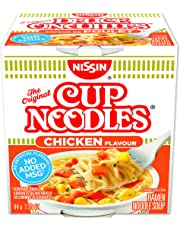 Nissin  Cup Noodles Chicken, 64 Gram, Pack of 12