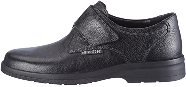 8d88c04a7e2f Mephisto JACCO Natural 7200 Men s Moccasins Black Size  12.5 UK   Amazon.co.uk  Shoes   Bags