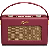 Roberts Revival RD60 FM/DAB/DAB+ Digital Radio - Burgundy
