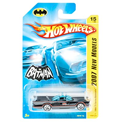 Hot Wheels 2007 First Editions 1966 TV Series Batmobile #15/36: Toys & Games