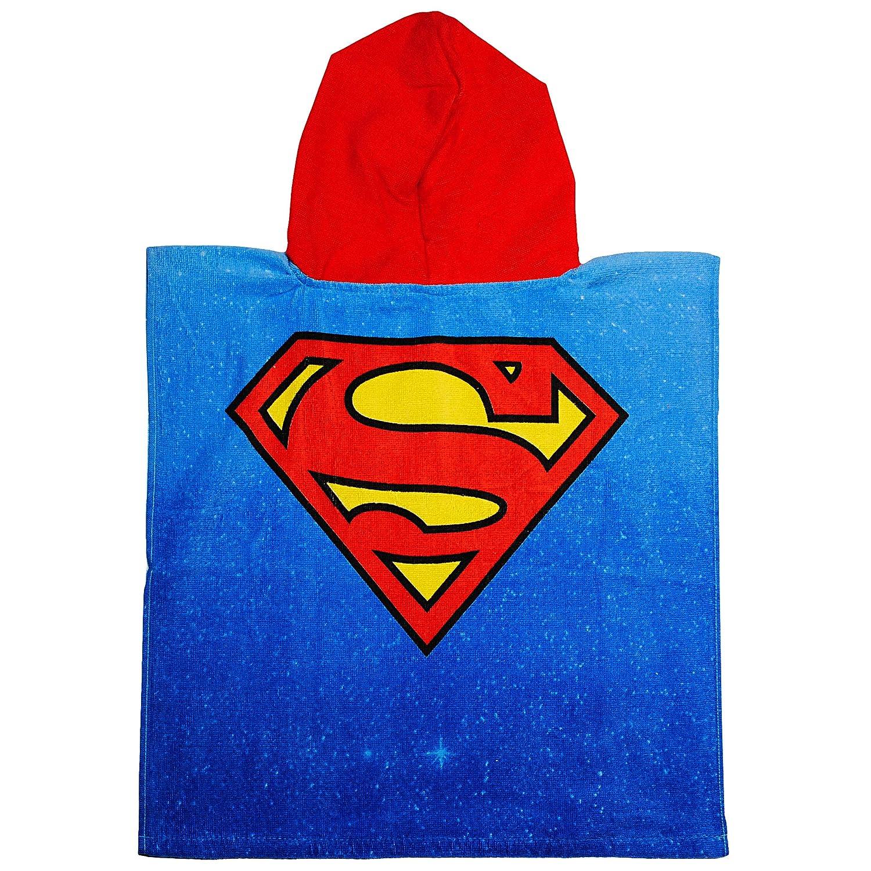 inkl 100 /% Baumwolle 50 cm * 105 cm mit Kapuze Name Frottee // Velours Batman // Superman Han.. 2 bis 6 Jahre Poncho alles-meine.de GmbH Badeponcho // Kapuzenhandtuch