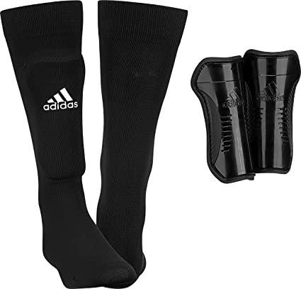 Amazon.com   adidas Performance Youth Sock Shin Guards   Sports ... 0ec539e4df