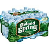 POLAND SPRING 100 Percent Natural Spring Water, 16.9-ounce plastic bottles