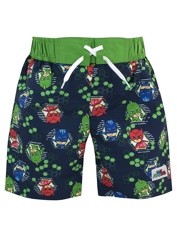 Pj Masks Boys Catboy Owlette & Gekko Swim Shorts