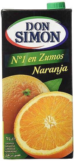 Don Simon - Zumo de Naranja, 1 L - , Pack de 6