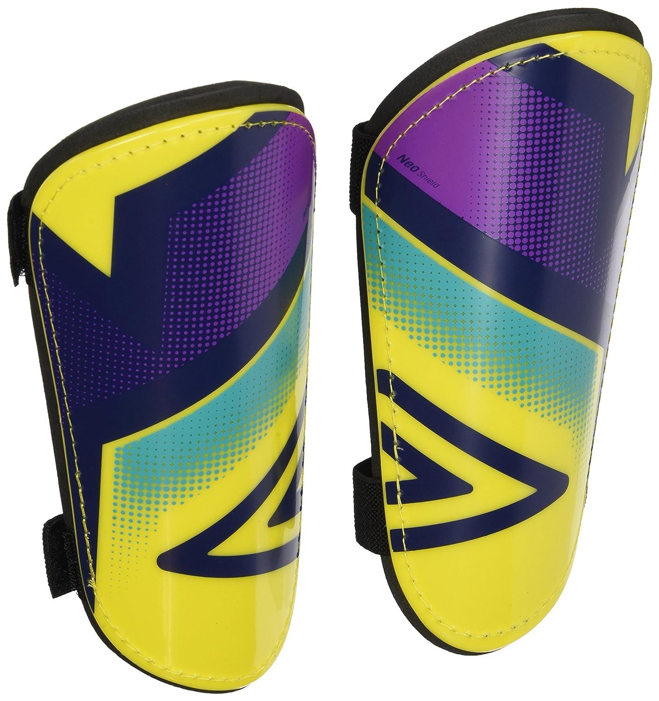 Umbro Neo Shield Slip–Parastinchi per uomini, colore: giallo/viola Cactus/Bluebird 20634U-EDW