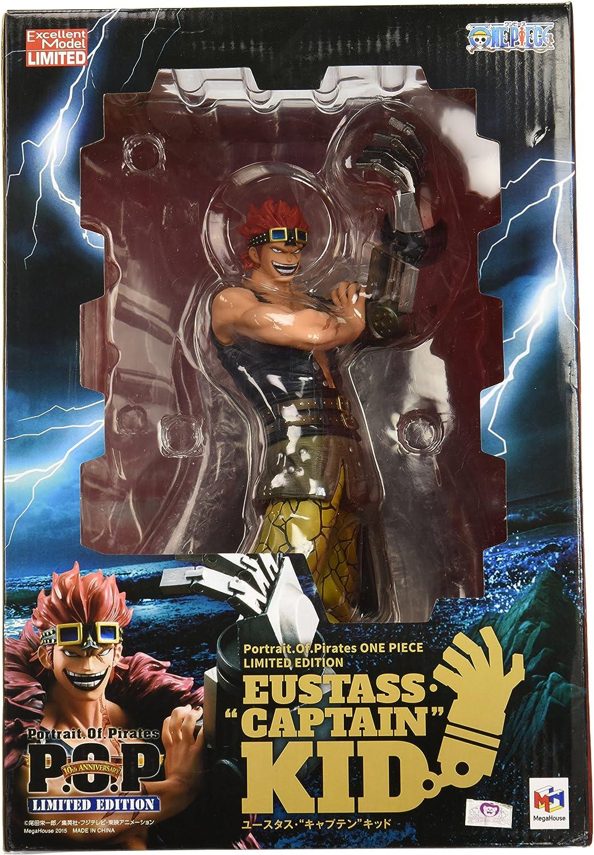 One Piece POP Portrait.Of.Pirates Maximum Action Figure Eustass Captain Kid JP