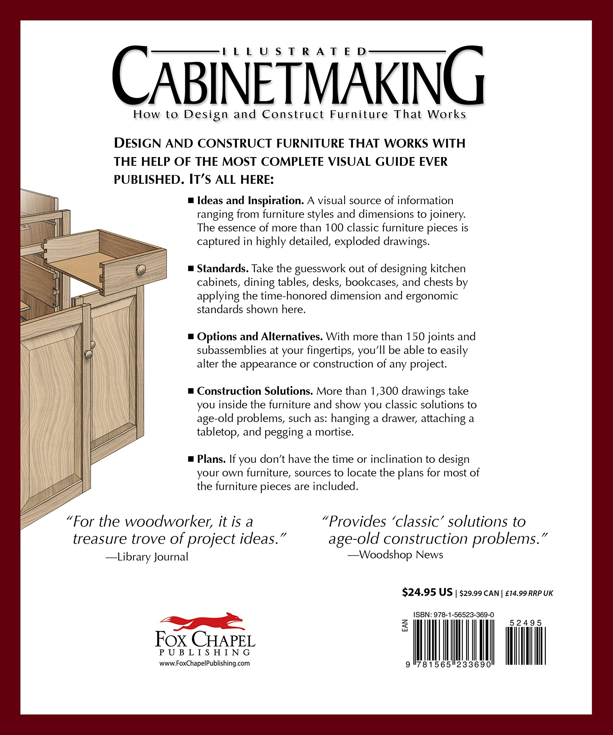 Furniture making manual ebook array illustrated cabinetmaking how to design and construct furniture rh amazon com fandeluxe Choice Image