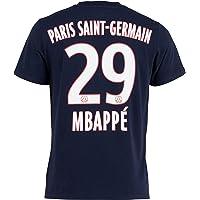 PSG T-Shirt Kylian MBAPPE - Collection Officielle Paris Saint Germain - Taille Adulte Homme