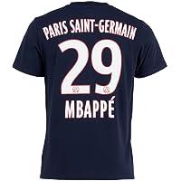 T-shirt PSG - Kylian MBAPPE - Collection officielle PARIS SAINT GERMAIN - Taille enfant garçon