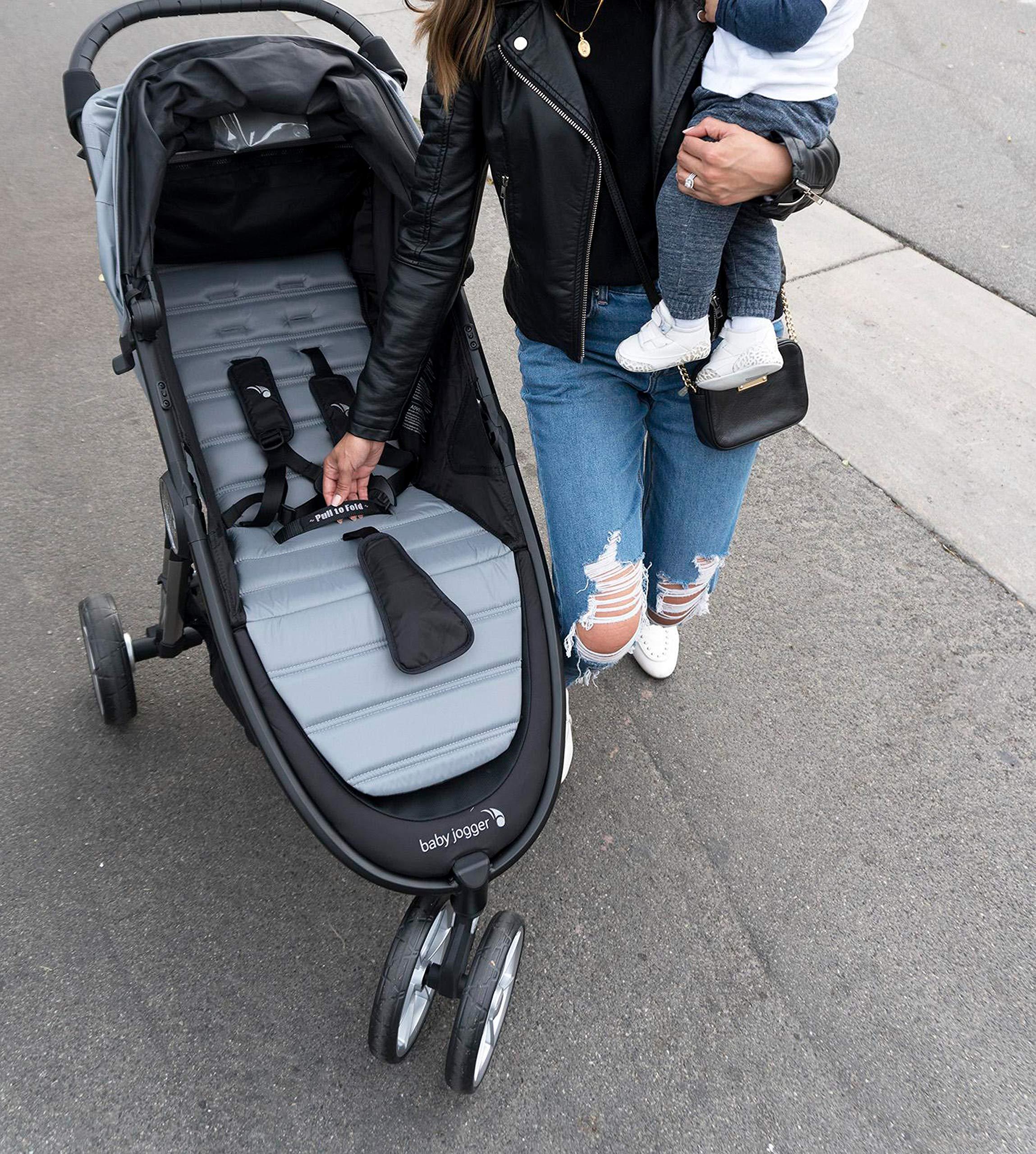 Baby Jogger City Mini 2 Stroller - 2019   Compact, Lightweight Stroller   Quick Fold Baby Stroller, Carbon by Baby Jogger (Image #12)