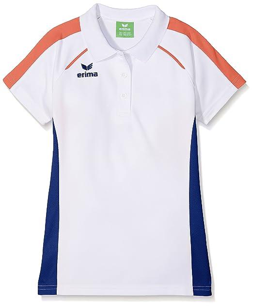 erima niña Masters Blanco de Polo Camiseta: Amazon.es: Ropa y ...