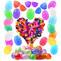 48 Easter Eggs with 500 Water Balloons Ready to Fill - Fun Spring Colors And Premium Quality Balloon