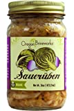 Saueruben (Traditional German Sauerkraut with Turnips), Raw, Fermented, Probiotic, Organic, 16 Oz (1 Jar)