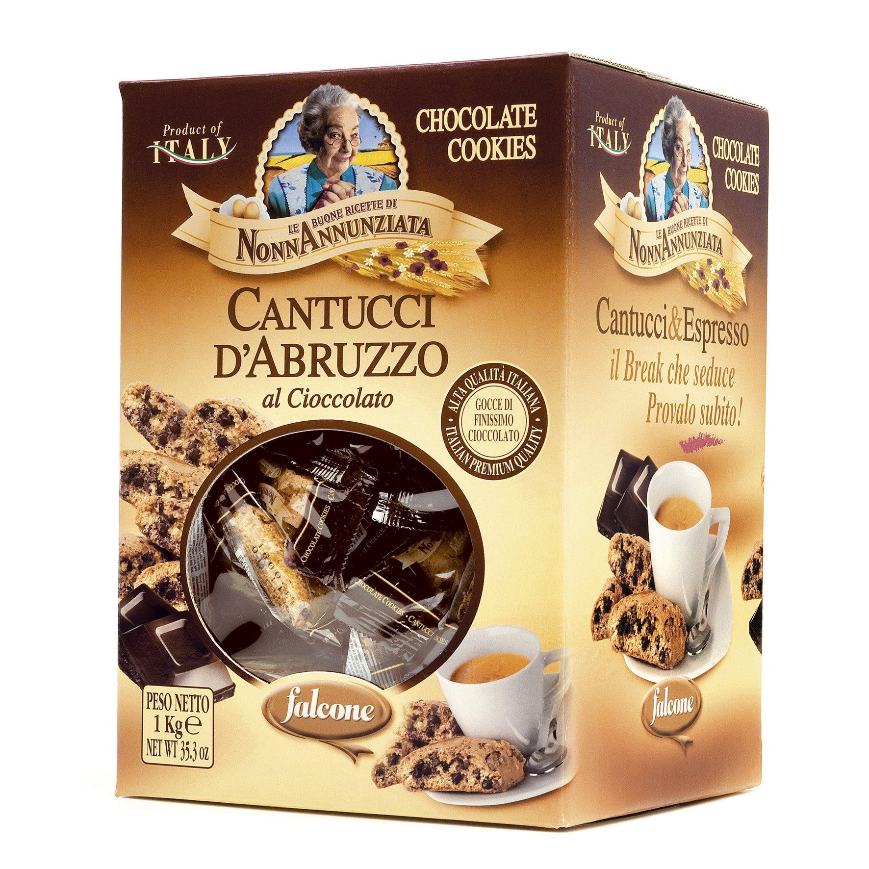 Nonna Annunziata Cantuccini D'Abruzzo Chocolate Chip Biscotti (35.3 ounce Box)