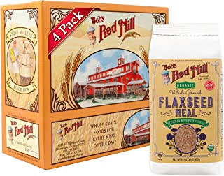 product image for Bob's Red Mill Resealable Organic Brown Flaxseed Meal, 16 Oz (4 Pack)