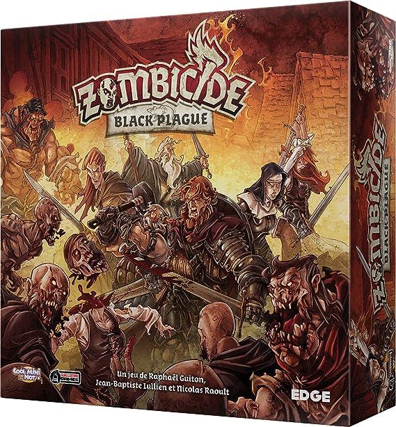 Asmodee – efcmzb01 – Zombicide Black Plague: Amazon.es: Juguetes y juegos