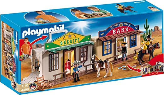 Playmobil grand plancher maison western