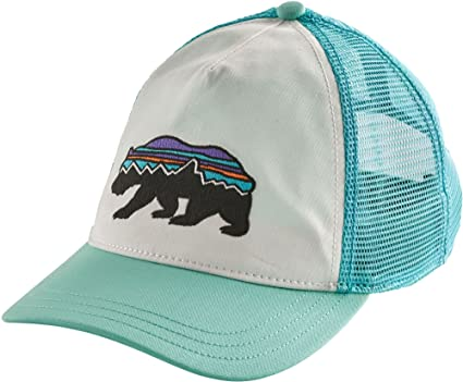 efa7fc0675d Amazon.com  Patagonia Women s Fitz Roy Bear Trucker Hat (One Size ...