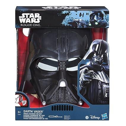 STAR WARS SW Movie E7 Mascara electrónica Darth Vader, Multicolor, única (Hasbro C0367EU4)