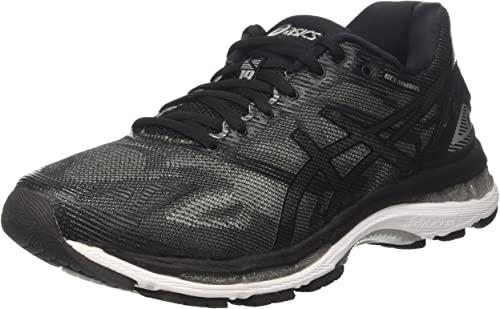 womens asics gel nimbus 19 black