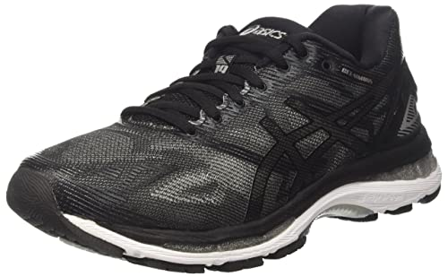Asics Gel-Nimbus 19, Men's Runnning/Training Shoes, Black (Black/