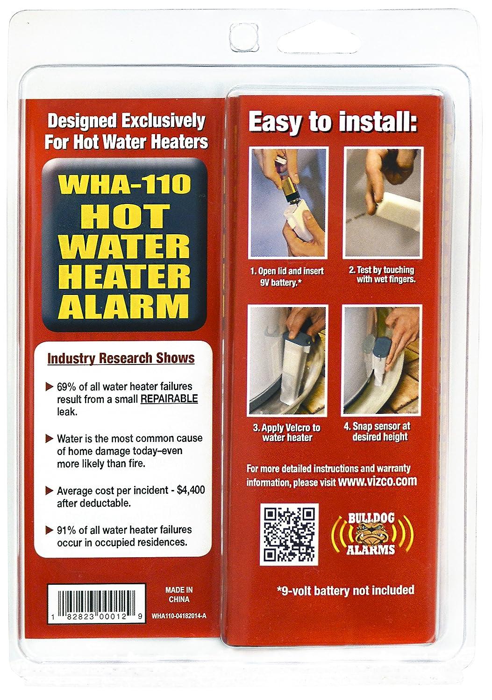 Average Cost Of Water Heater Water Heater Leak Alarm Bulldog Water Sensor Leak Detector