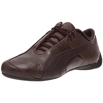98fda26aa19d Puma Future Cat M1 Lux Leather, Baskets pour Femme Marron Marron - Marron -  Braun
