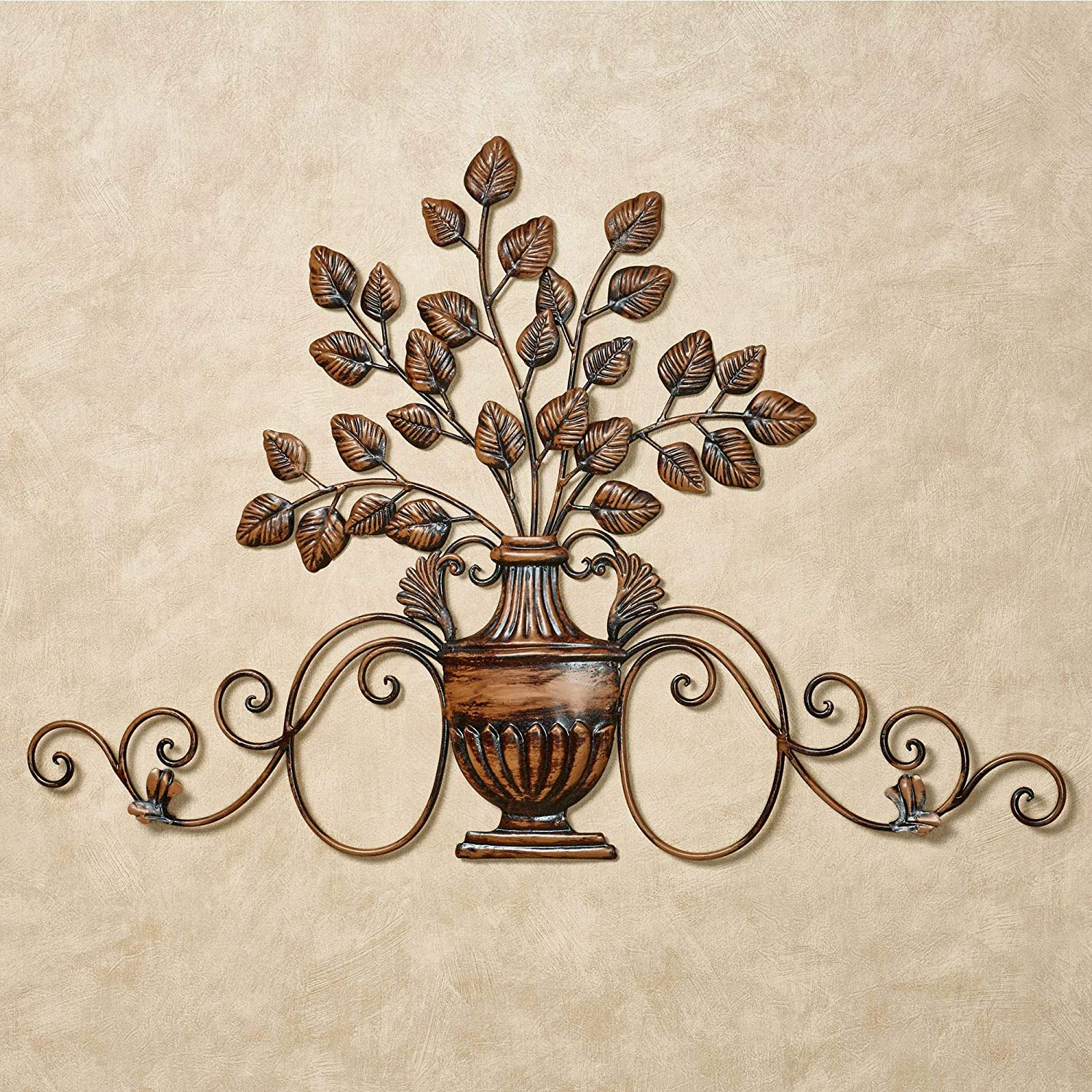 Touch of Class Majestic Urn Wall Decor Bronze