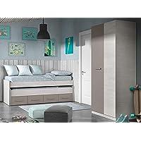 Miroytengo Pack Muebles Dormitorio Juvenil Color Unisex Cama